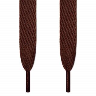 Super wide brown shoelaces
