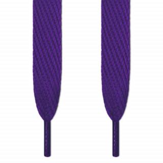 Super wide purple shoelaces