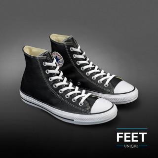 Elastic flat white shoelaces (no tie)